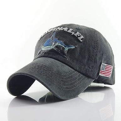 Mens Baseball Cap Women Hats for Men Bone Casquette Hip hop dad hat Gorras Cotton Shark