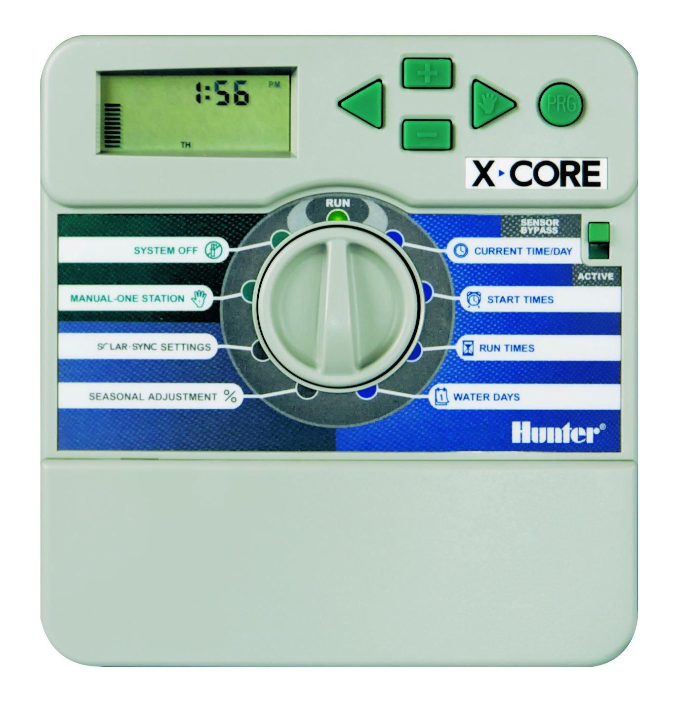 Hunter xc-801i Bewässerung batteriebetrieben Timer 8–Stationen, für Innen für Innen