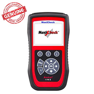 Autel MaxiCheck Pro Auto Bleed Tool for ABS Brake Bleeding, SRS, BMS, DPF, EPB Service, SAS, Oil Light/Service Reset, for Specific Vehicles Most Up to Year 2015, Not Compatibility for All: Automotive
