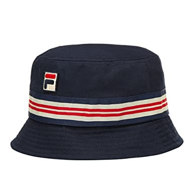 Image Unavailable. Image not available for. Colour  Fila Vintage Casper  Bucket Hat ... a9f211f68