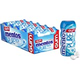 Mentos Pure Fresh Chewing Gum, Fresh Mint, Sugar Free, 10 Pocket Bottles, 10 x 30 g, Fresh Mint