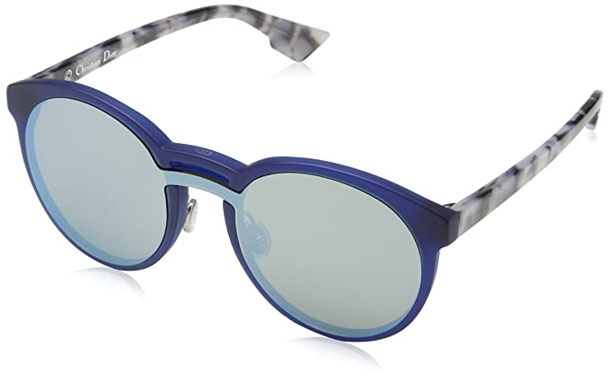 Amazon.com: Dior onde1 Gafas de sol 58 mm, Azul, L: Clothing