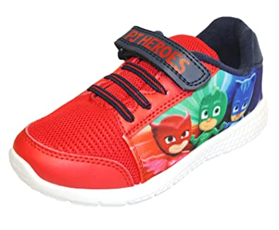 PJ Masks Navy Blue Trainers Easy Fit Elasticated Laces and Touch Fastening