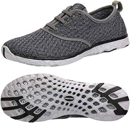 Amazon.com | ALEADER Men's Quick Drying Aqua Water Shoes | Water Shoes
