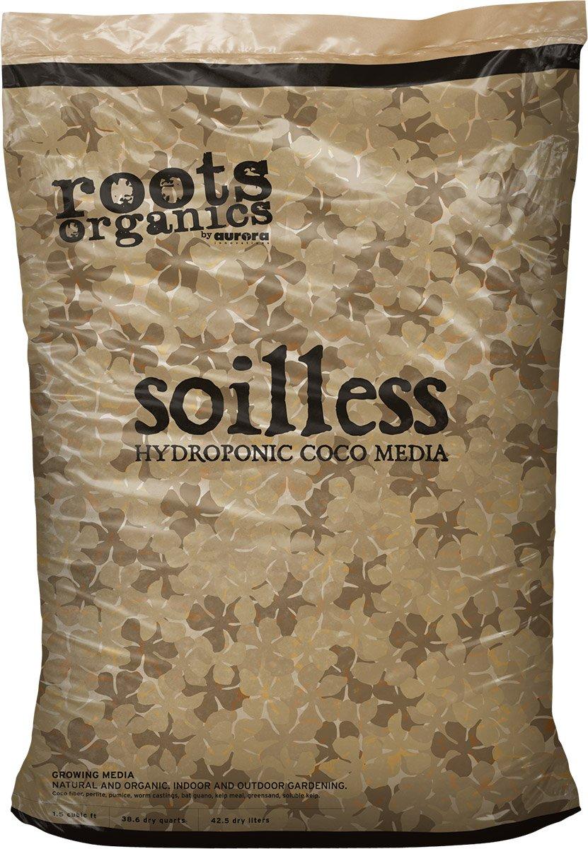 Roots Organics ROS Coco Soilless Mix, 1.5 cu. Ft.