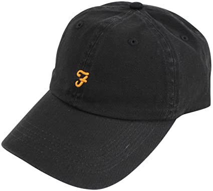 Farah Black Thorney Twill Baseball Cap  Amazon.co.uk  Clothing dbfd2eaa79e