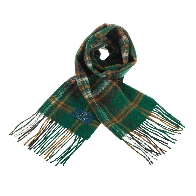 Tartan Clan Scarf 100% Wool In Various Colours