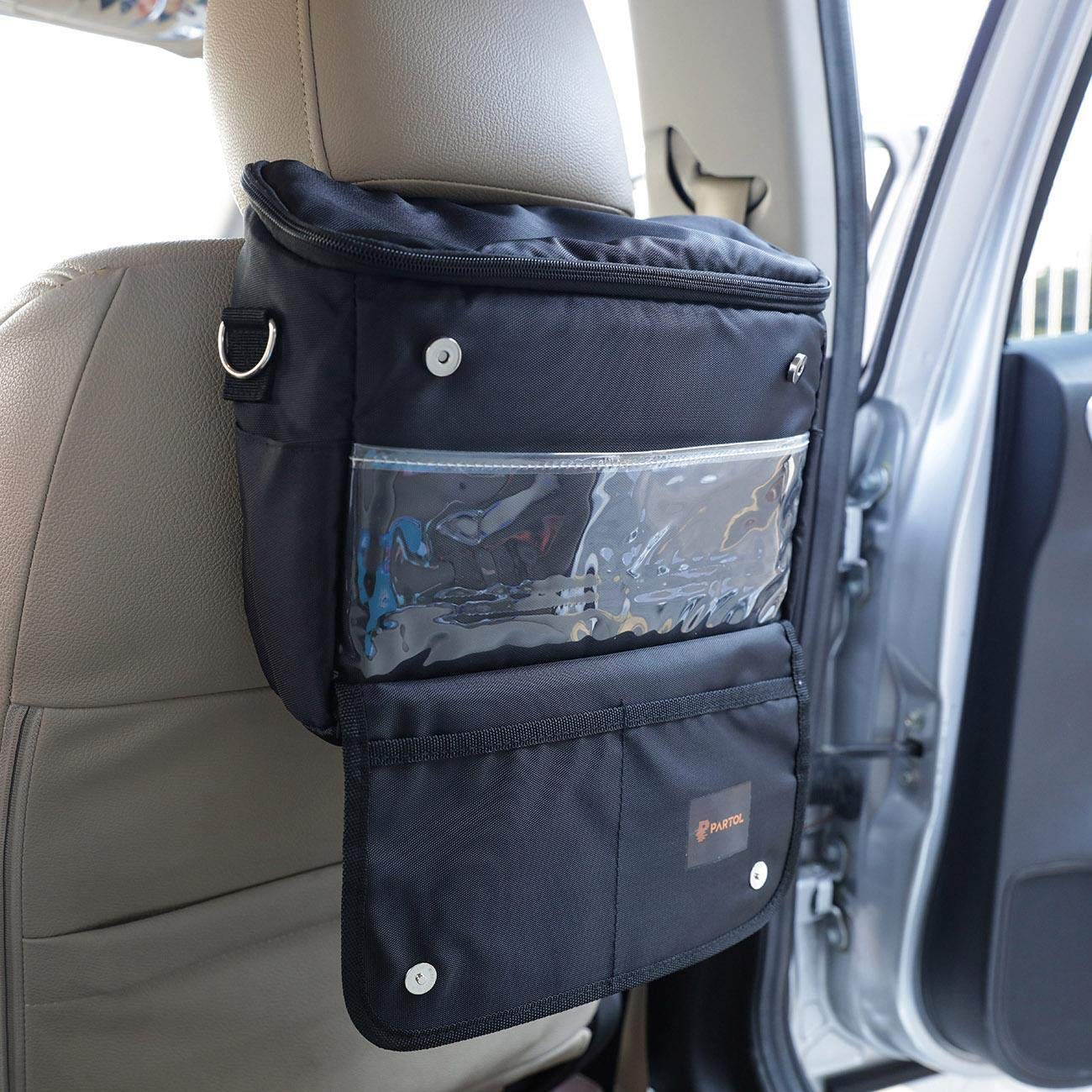 Car Seat Back Hanging Organizer Collector Storage Multi-Pocket Ice Bag