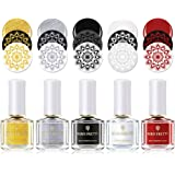 BORN PRETTY Nail Art Stamping Polish Pure Sweet Varnish Manicure Printing Lacquer Classic Color Selection