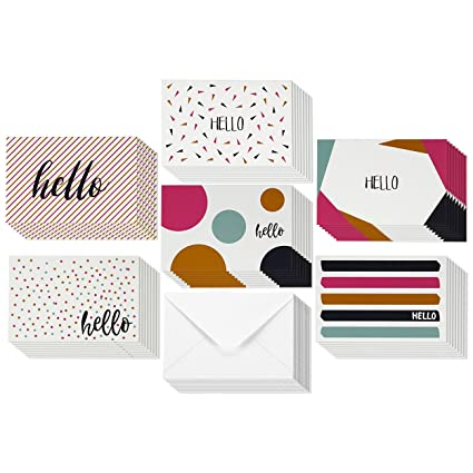 Amazon 48 pack all occasion greeting cards assorted blank on 48 pack all occasion greeting cards assorted blank on the inside note cards bulk box m4hsunfo