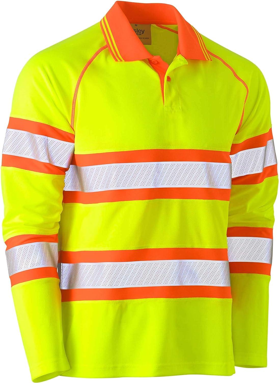 Bisley Workwear UKK6223T_TT22 - Polo de manga larga (tejido de ...