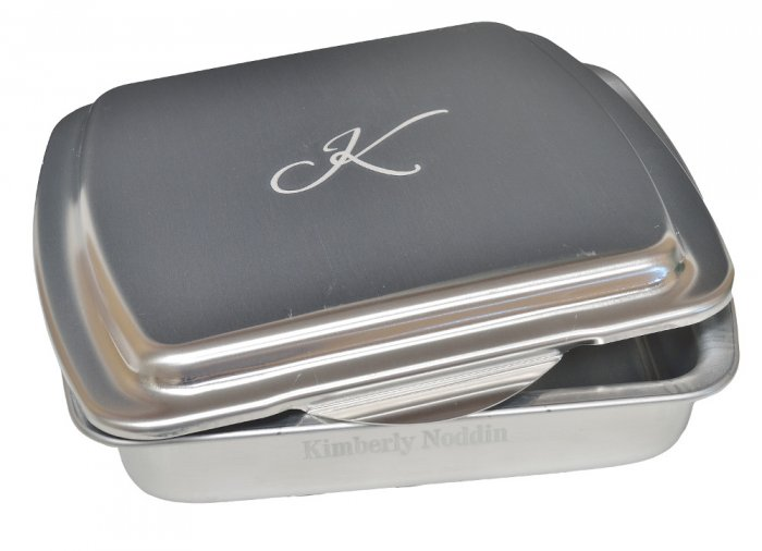 9x9 Traditional Retro Series, Monogram - $22.99 : That's My Pan!, Personalized Cake Pans and More