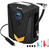Foxnovo Tyre Inflator, Portable Air Compressor Auto Digital Tyre Inflator 12V 150 PSI Tyre Pump for Car, Truck, Bicycle, Motorcycles, Balls and Other Inflatables