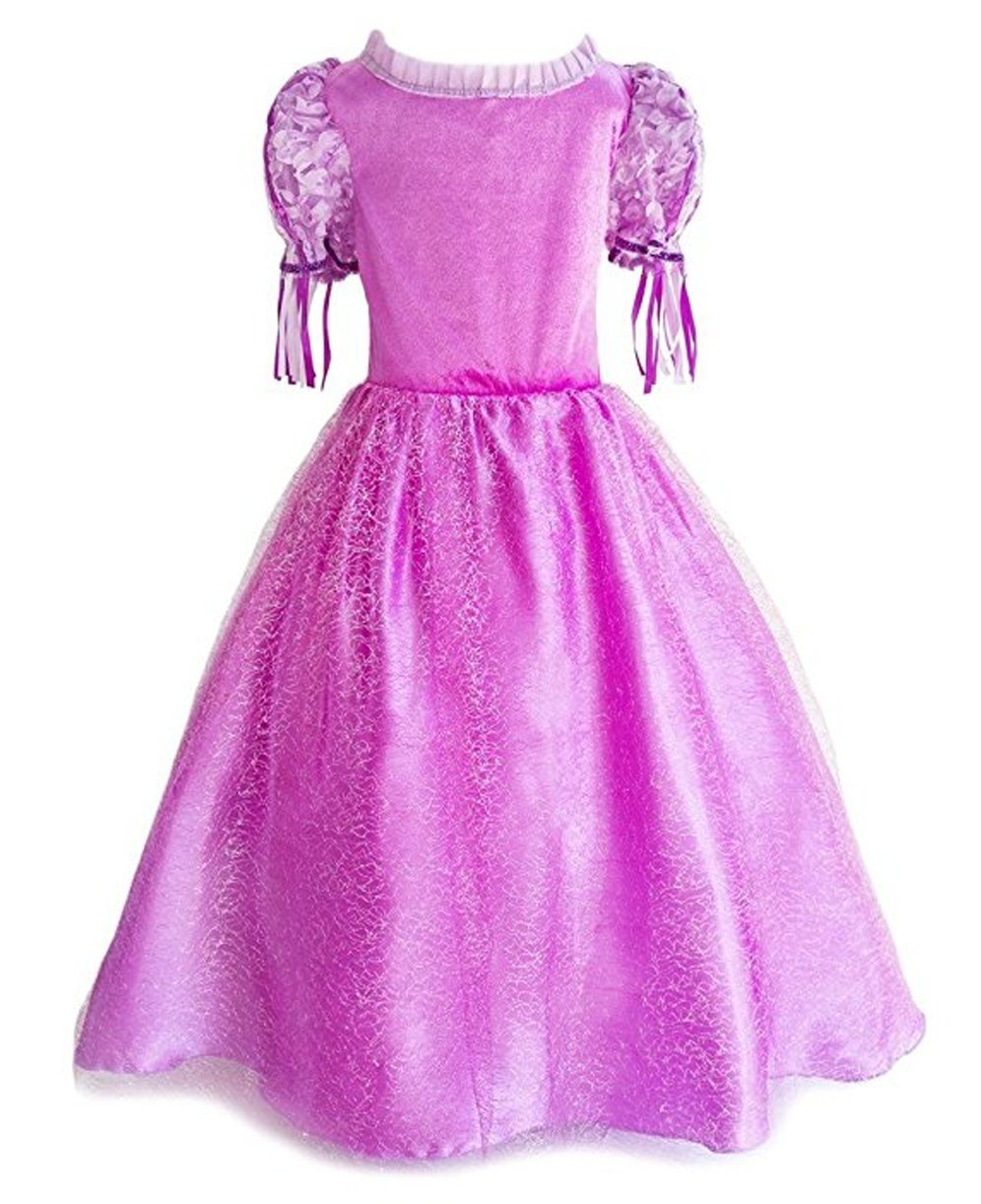 SweetNicole Princess Rapunzel Purple Princess Party Costume Dress with Accessories (7-8) by SweetNicole (Image #2)