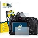2x BROTECT Film Protection pour Canon EOS 80D Protection Ecran - Mat, Anti-Réflets