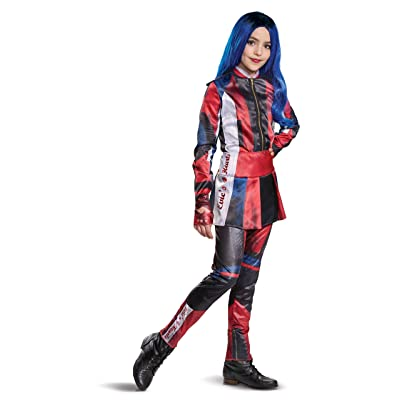 Disney Evie Descendants 3 Deluxe Girls' Costume: Toys & Games