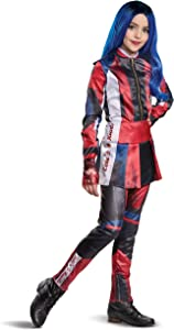 Disguise Disney Evie Descendants 3 Deluxe Girls' Costume, Red, X-Large (14-16)