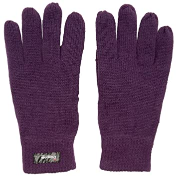 Bekleidung Camping & Outdoor Neu Peter Storm  Thinsulate Knit Fleece Handschuhe Purple