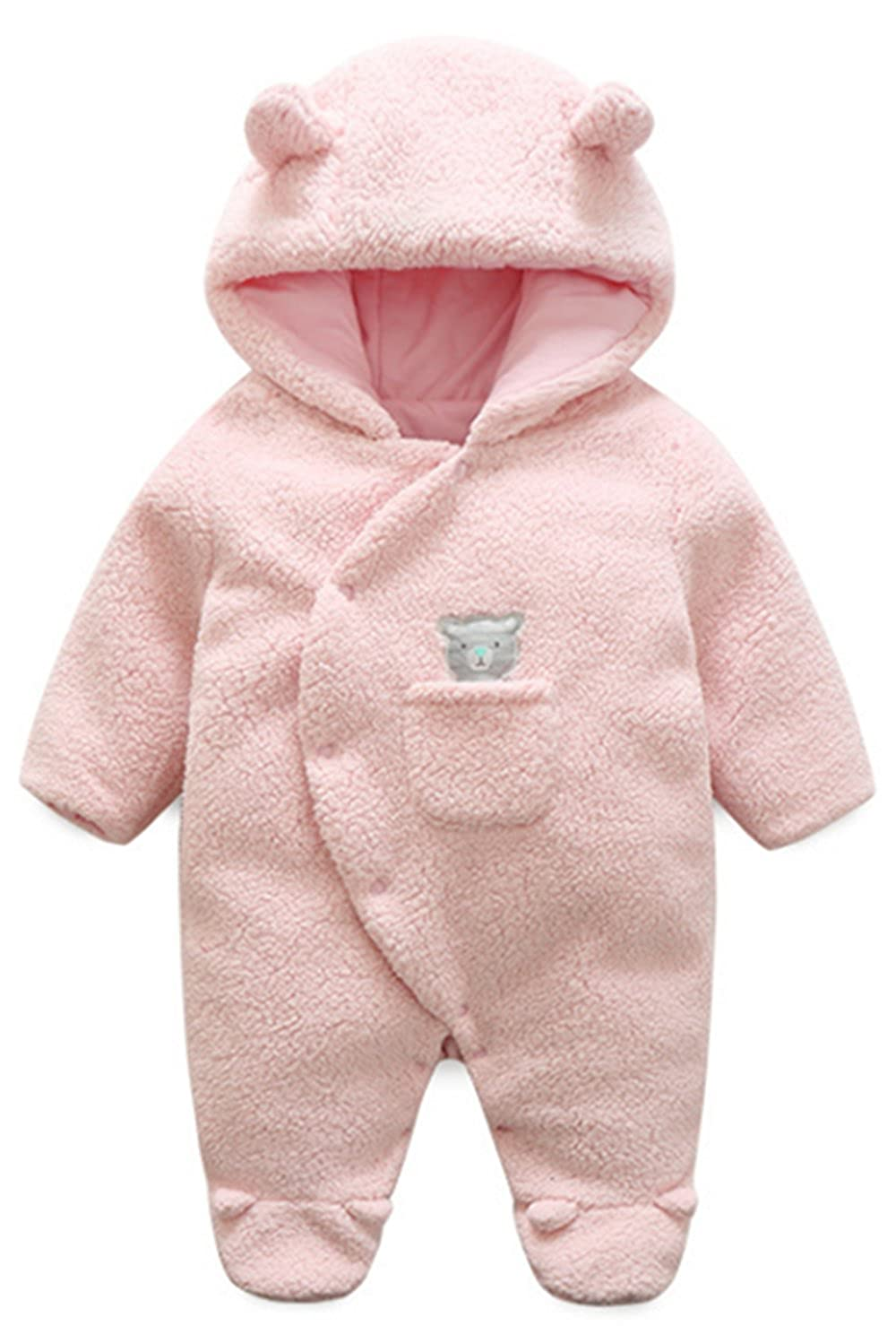 1131f74b0 Amazon.com  BANGELY Newborn Baby Winter Thicken Cartoon Sheep ...
