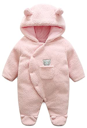 7993f64eac22 Amazon.com  BANGELY Newborn Baby Winter Thicken Cartoon Sheep ...