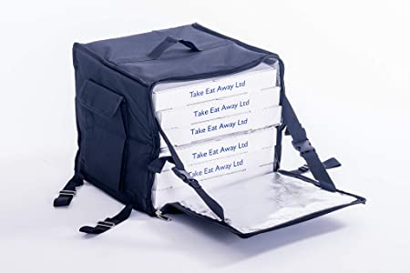 Mochila para Entrega de Comida con Aislamiento térmico, para Moto, Bicicleta, ciclomotor - Reino Unido Vendedor T14: Amazon.es: Hogar