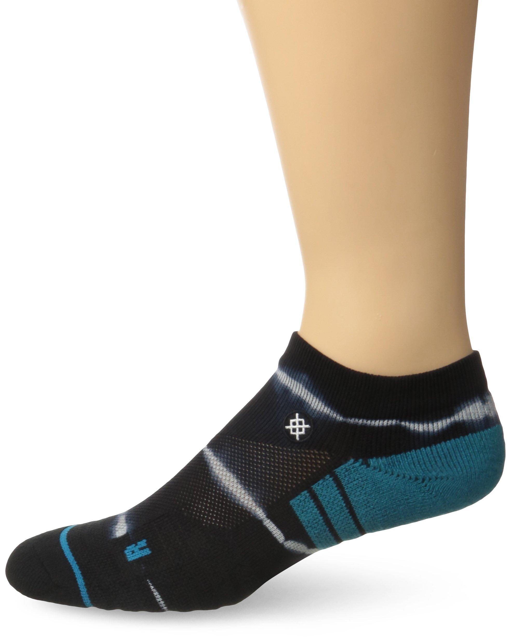 Stance Men's Richter Low Light Cushion Sock, Black, Sock Size:10-13/Shoe Size: 6-12