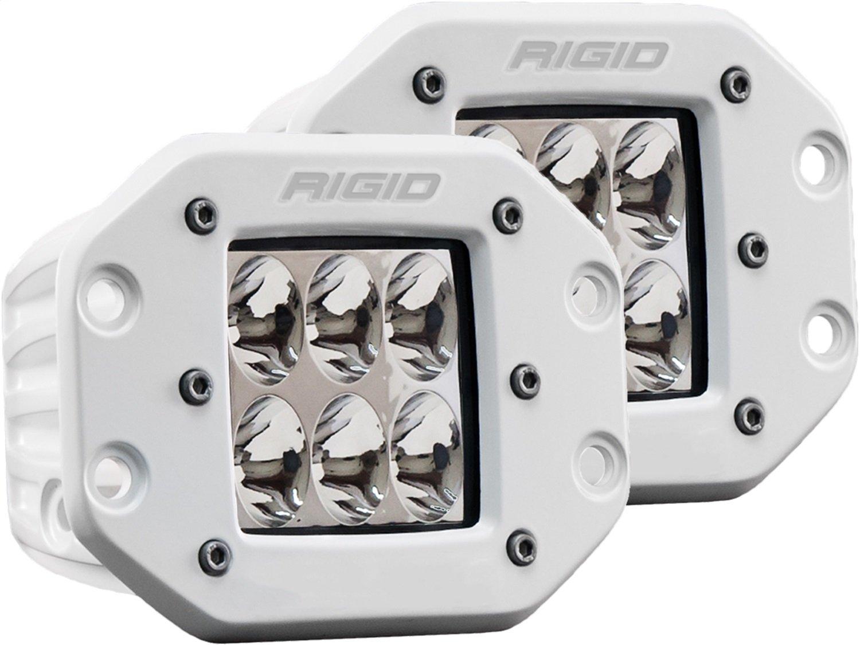 [Rigid Industries 正規品] D-シリーズ PRO LEDライト 2個セット LEDカラー:ホワイト 発光パターン:ドライビング フラッシュマウントタイプ B076JGG6VZ
