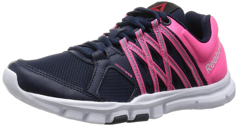 reebok yourflex 8. reebok women\u0027s yourflex trainette 8.0 running shoes, navy: amazon.co.uk: shoes \u0026 bags 8 e
