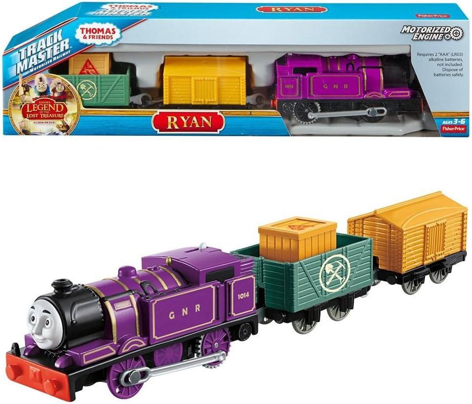Mattel Thomas and Friends Trackmaster Revolution Thomas ei suoi Amici Ryan Treno Locomotiva