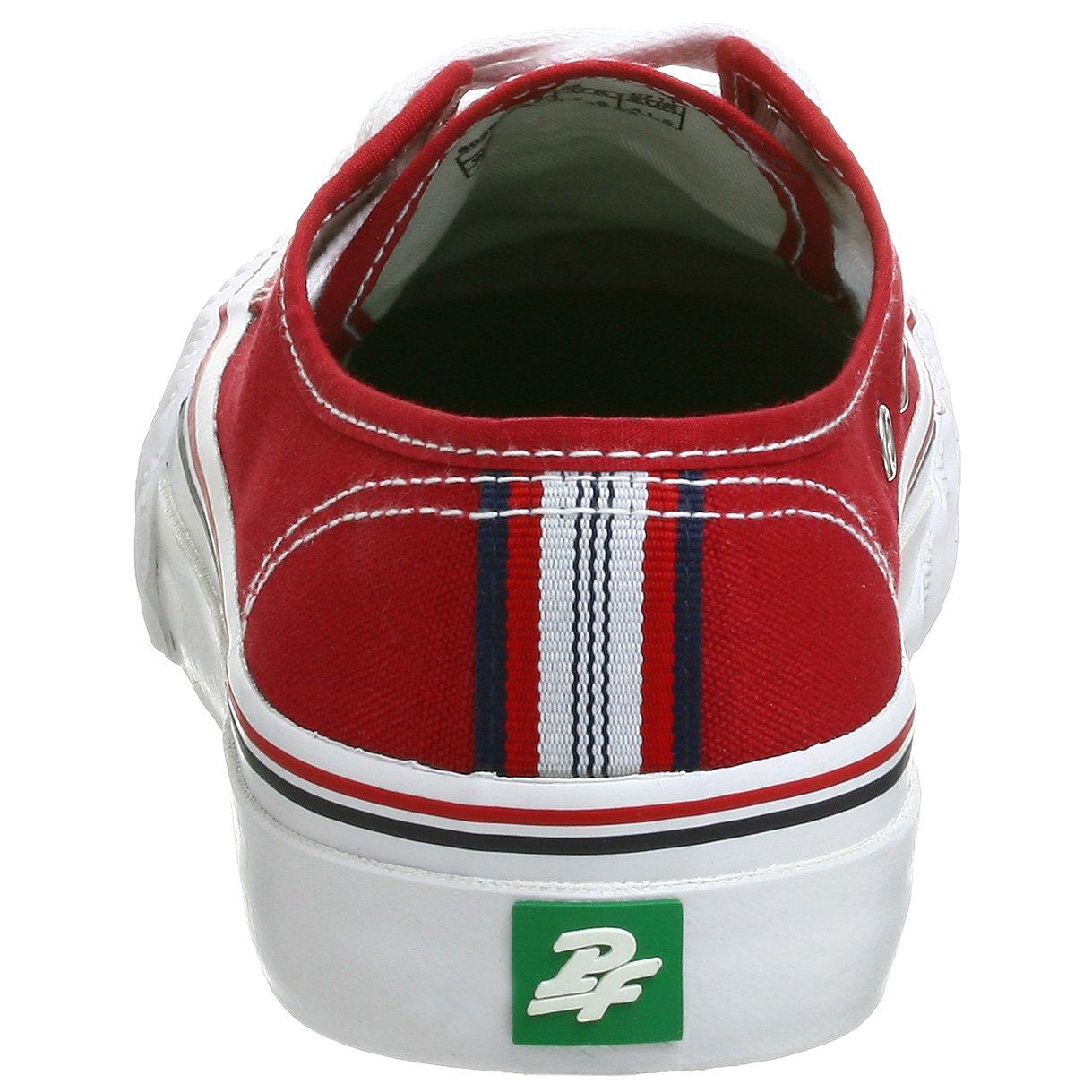 PF Sneaker Flyers Men's Center Lo Sneaker PF B0012VTG4W Men's 13 M US/Women's 14.5 M US|Red 3619b8