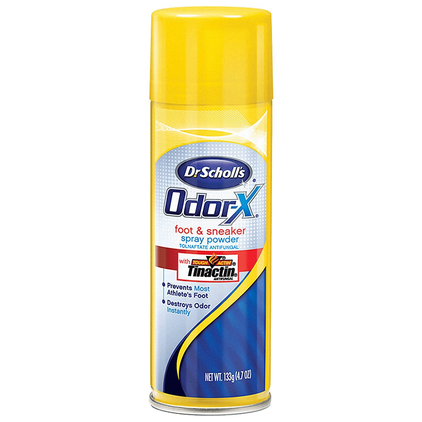Dr. Scholl's Odor Destroy Deodorant Sport Foot Spray, 3 Count