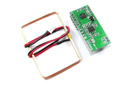 Módulo RFID y antena 125 khzmhz EM4100 RDM6300 Arduino TTL Pi ...