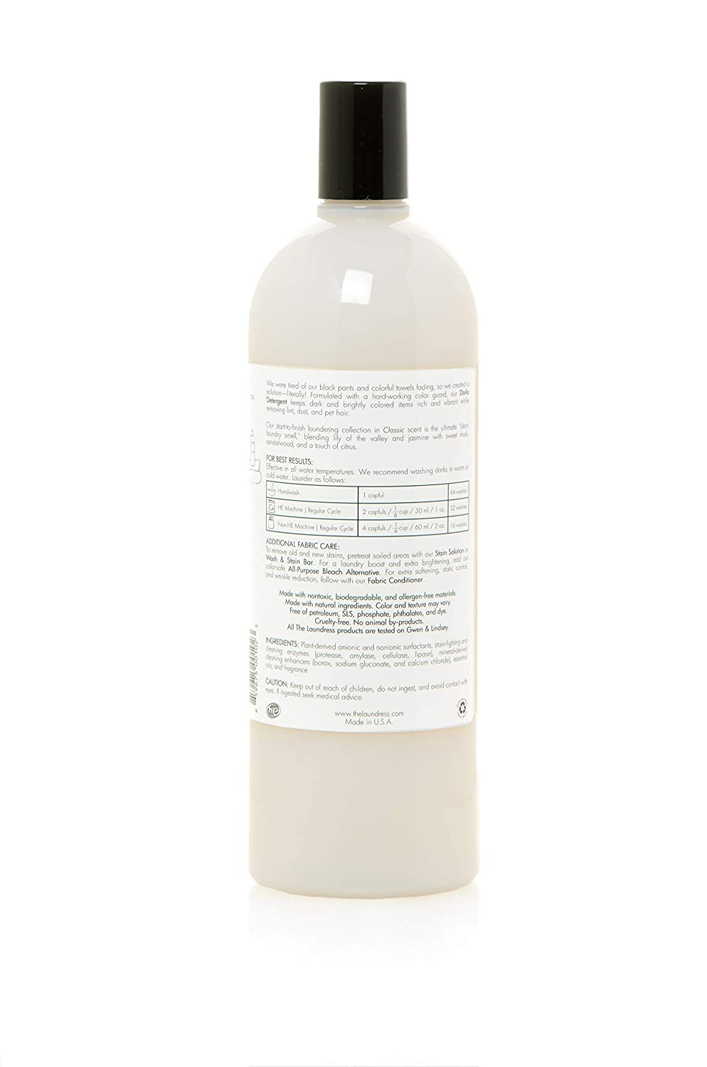 The Laundress The Laundress Darks Detergent, Classic Tapones para ...