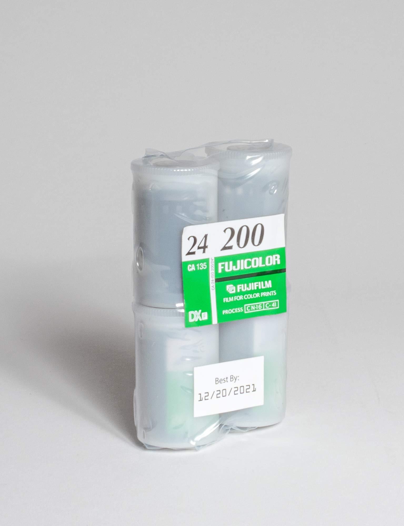 FujiFilm ISO 200 35mm Color Print Film, 24 Exposures (4 Rolls)