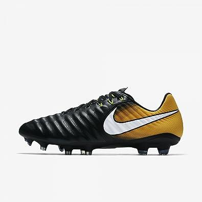 Nike Tiempo Ligera IV Agpro Noir-Orange - Chaussures Football Homme