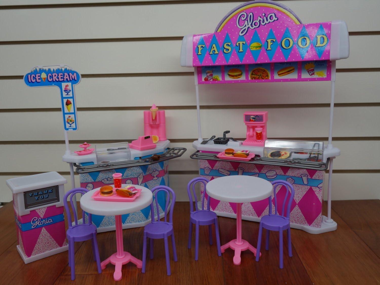 Ivory Gloria Fast-Food Play Set.