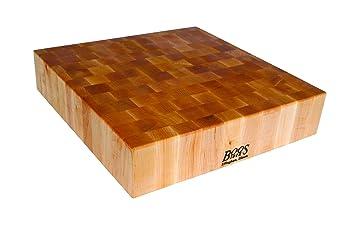 john boos maple wood end grain reversible butcher block cutting board 24u0026quot x 24u0026quot