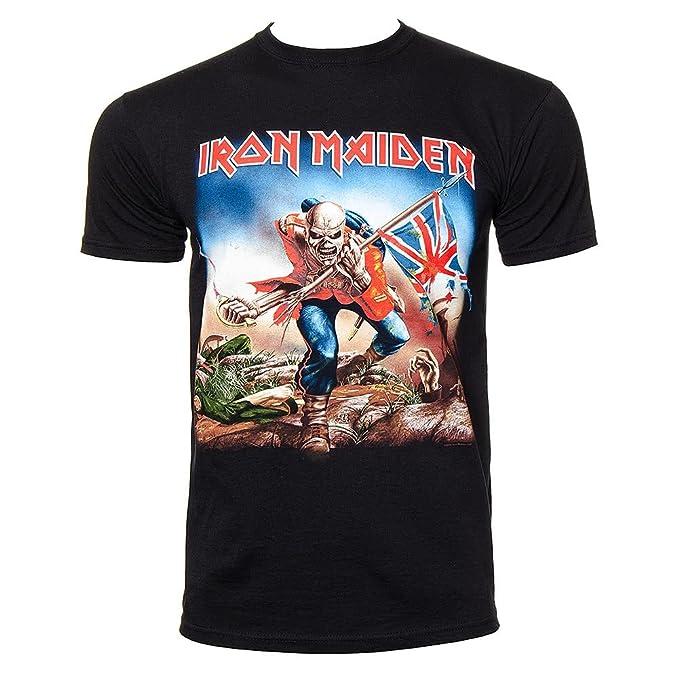 T Iron TrooperneroAmazon Shirt itAbbigliamento Maiden 2IDH9EWY