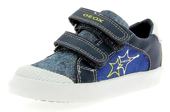 3bf2082b0aecd2 Geox - Geox B Gisli Scarpe Sportive Strappi Bambino Blu: Amazon.co.uk:  Clothing