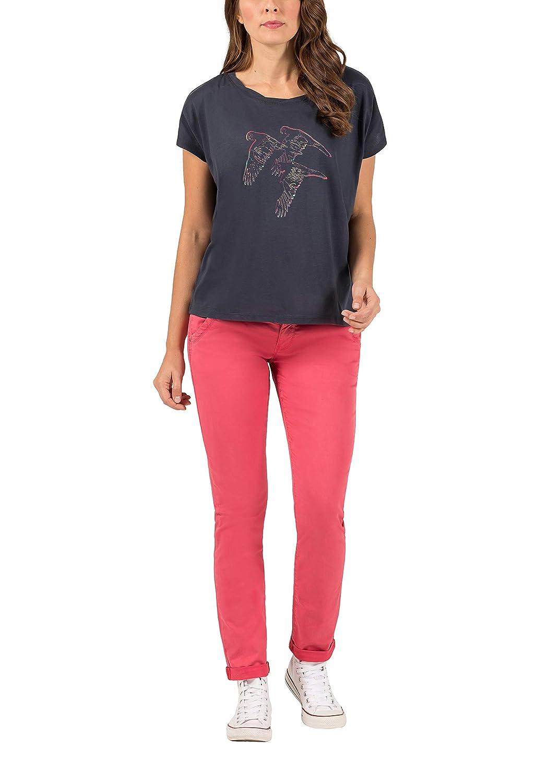 Pantalones Timezone Nalitz Vaqueros Slim Para Mujer Ropa Mk Primaria Ro