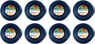 product image for Preserve Everyday BPA Free Bowls Made from Recycled Plastic in the USA, Bulk Set of 32, Midnight Blue