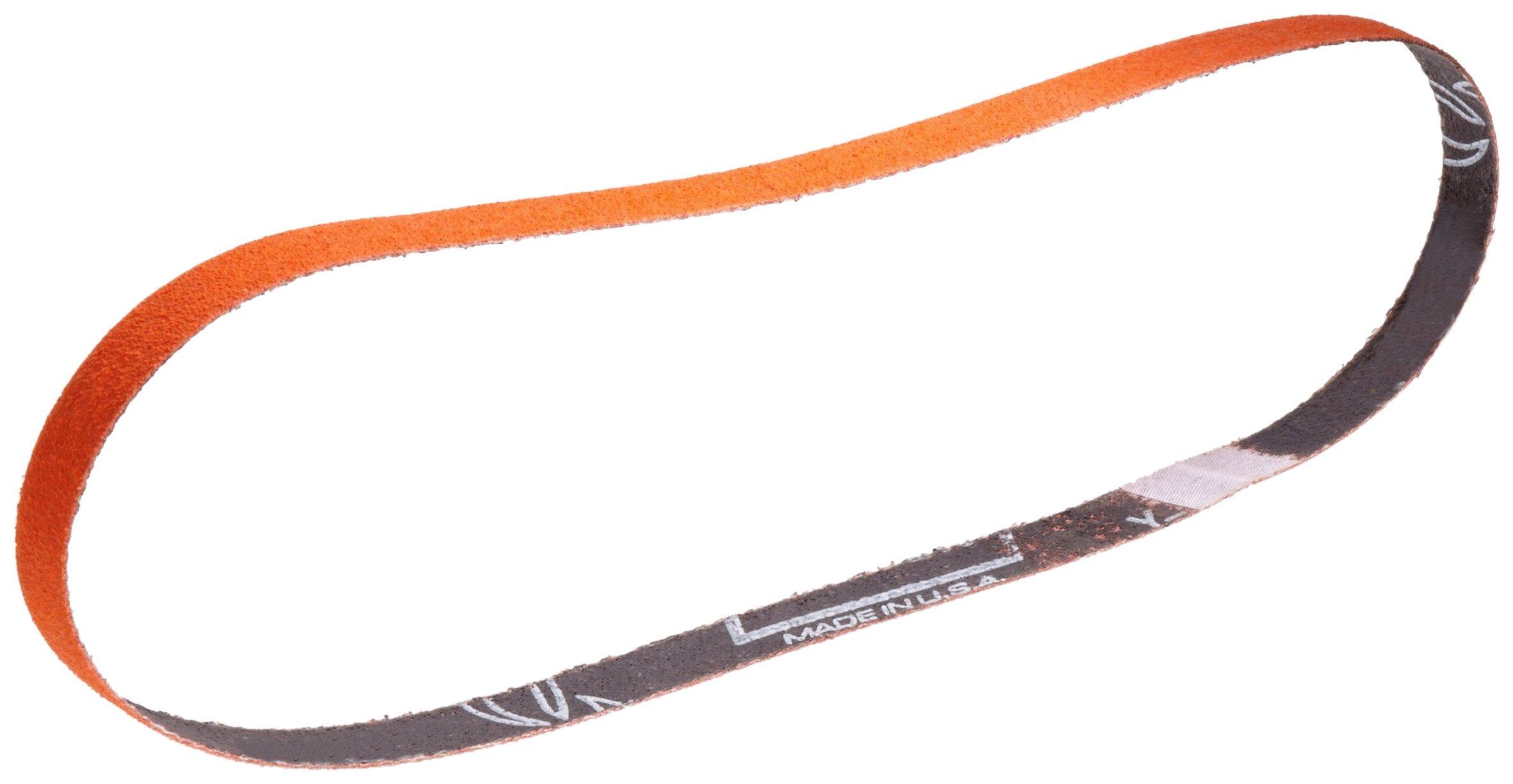 Norton SG Blaze R980P File Abrasive Belt, Waterproof, Cloth Backing, Ceramic Aluminum Oxide, 1/2'' Width, 12'' Length, Grit 40 (Pack of 50)