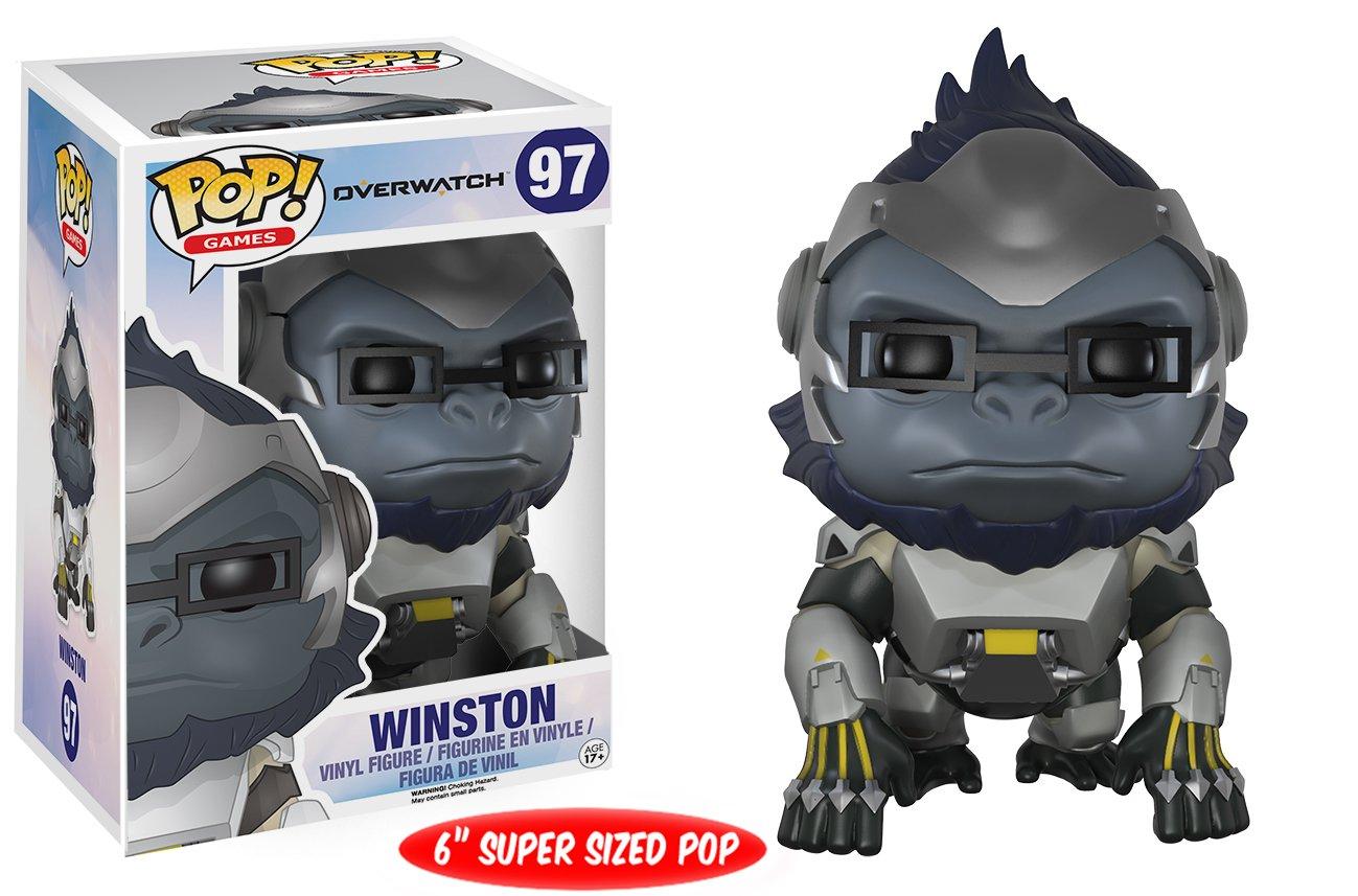 Overwatch Games: 9300 Accessory Toys /& Games POP Games Winston 6 Funko Pop Funko