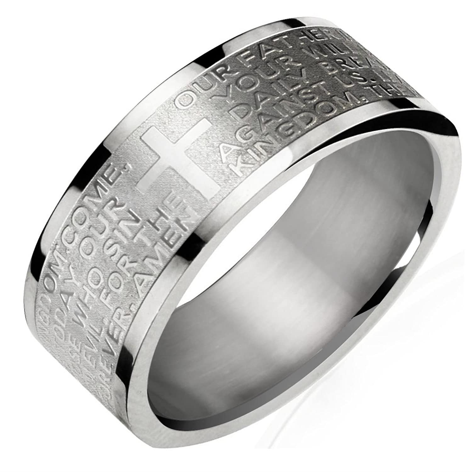 cavalli steel logo en rings ring just jewels stainless