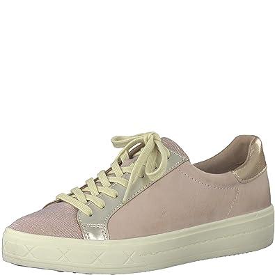 Sneaker Schuhe Damen Tamaris Sneakers Leder 23605 20 Rot