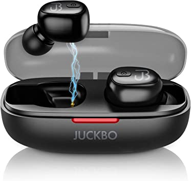 Amazon Com Wireless Earbuds Bluetooth 5 0 Wireless Earphones Stereo Sound Touch Control Built In Mic Ipx7 Waterproof 12h Playback Time Wireless Headphones Bluetooth Earbuds With Portable Charging Case Electronics