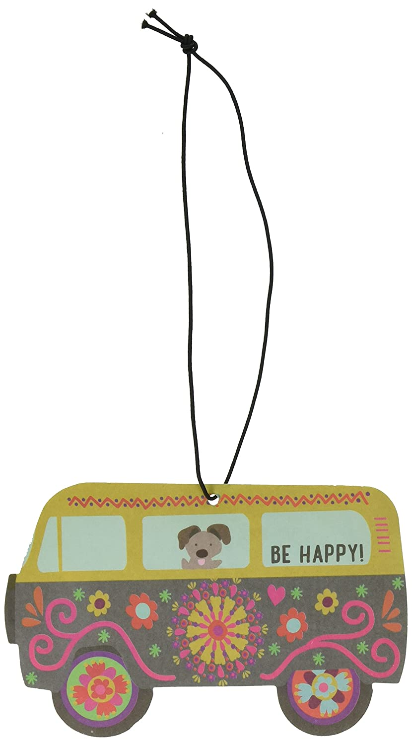 Natural Life Van Air Freshener, Be Happy, Set of 3 AFR063