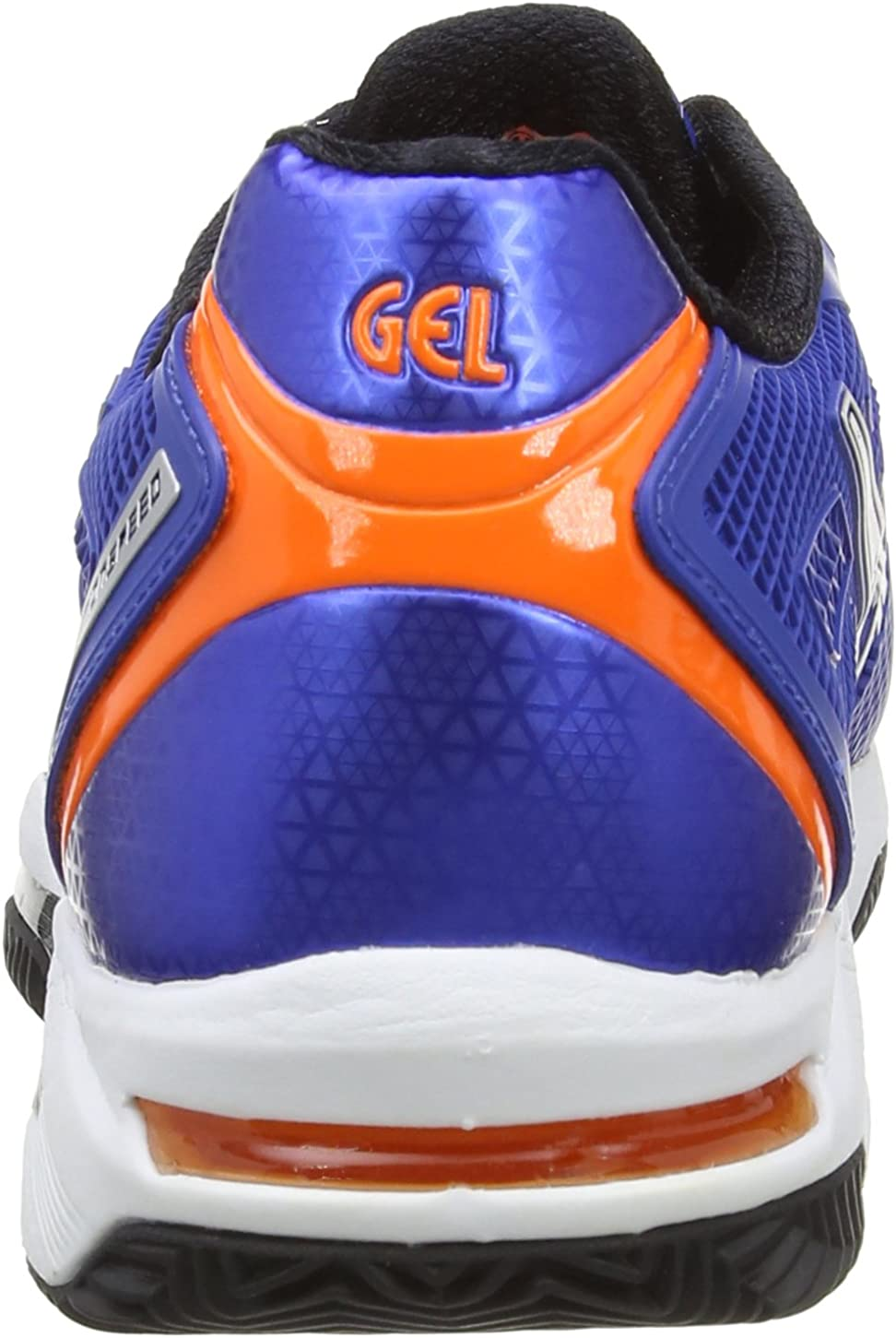 ASICS Herren Gel-Solution Speed 2 Clay Outdoor Fitnessschuhe Blau (Blue/Flash Orange/Silver 4230)