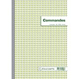 Exacompta Commercial Order Form Book, A4, Vertical, Duplicate Carbonless Copy, 50 Pages