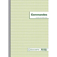 Exacompta 13108E Manifold Commandes 29,7 X 21 cm 50 Feuillets Dupli Autocopiants